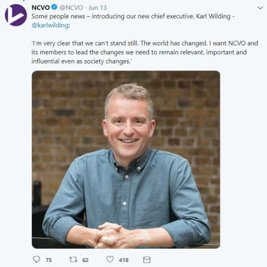 NCVO announcement